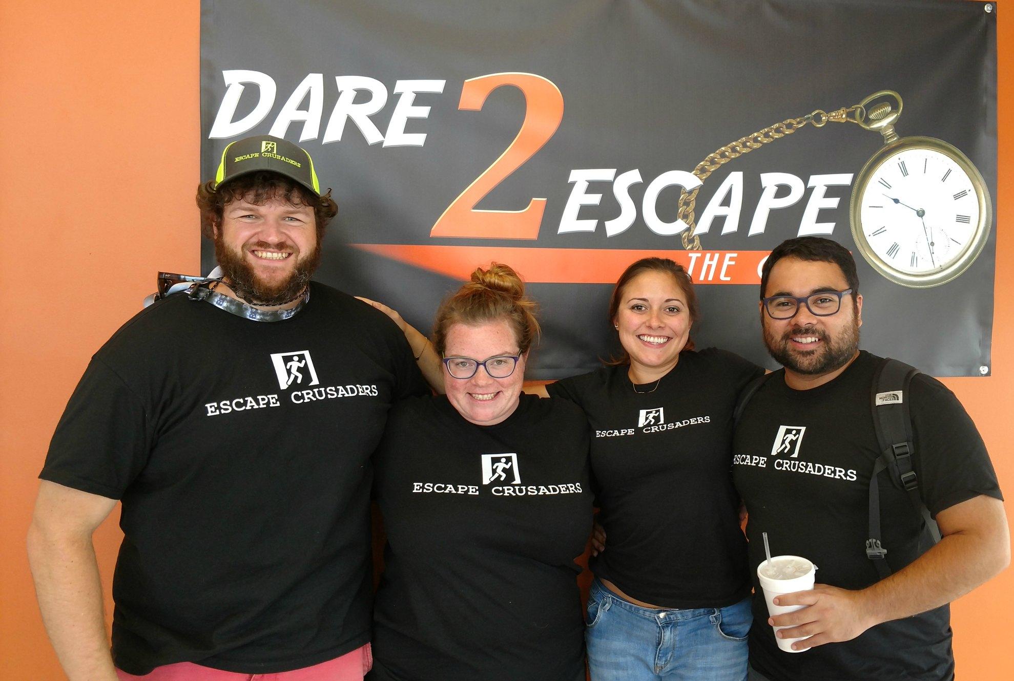 Dare 2 Escape The Ringmaster Escape Room