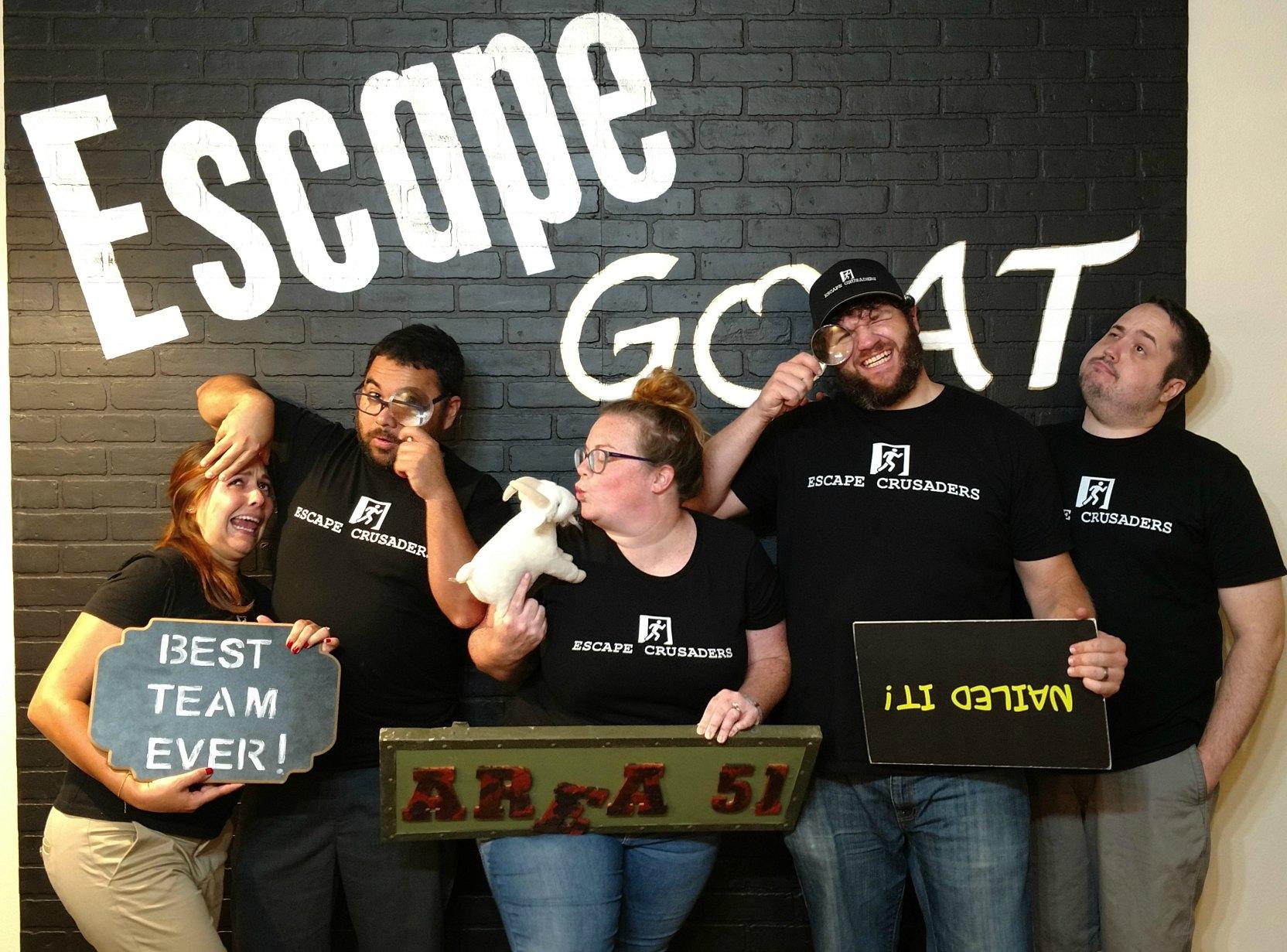 Escape Goat Area 51 Review