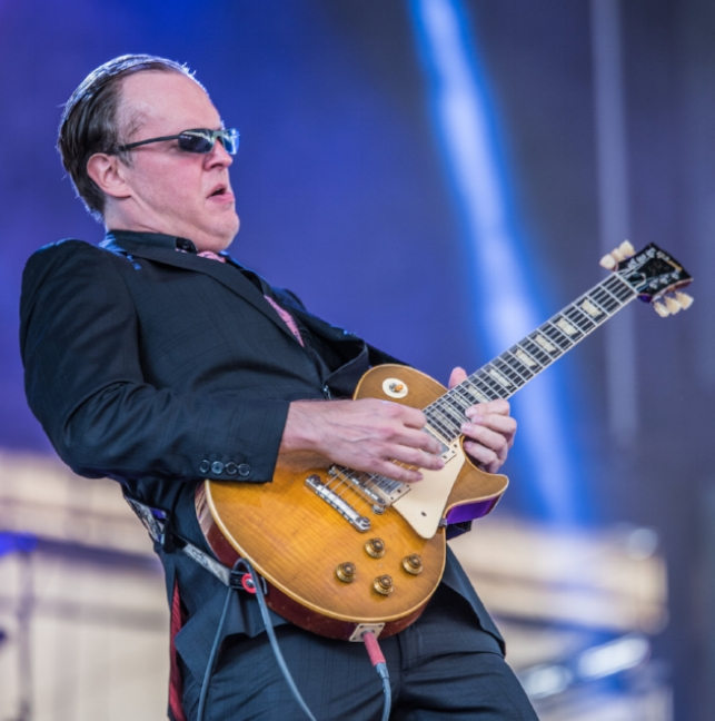 Joe bonamassa - The Peach Music Festival 2017