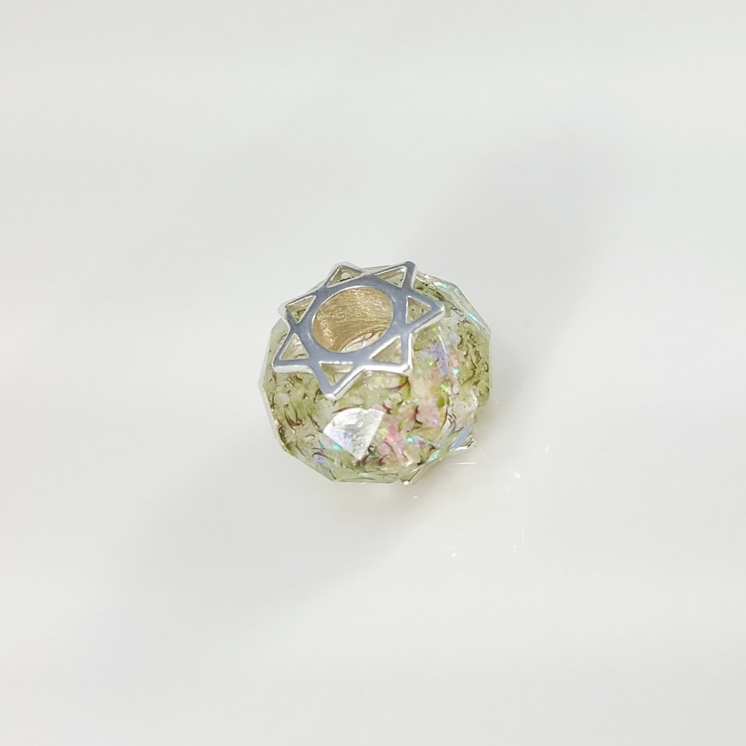 Faceted Charm Bead