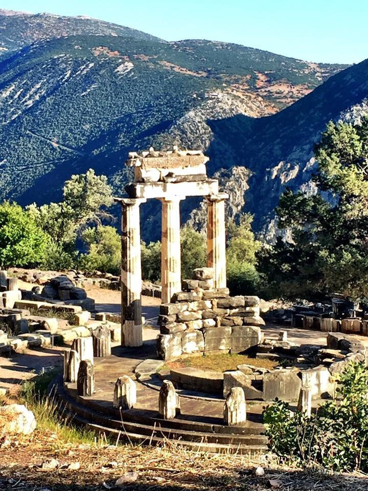 Temple of Athena -Delphi