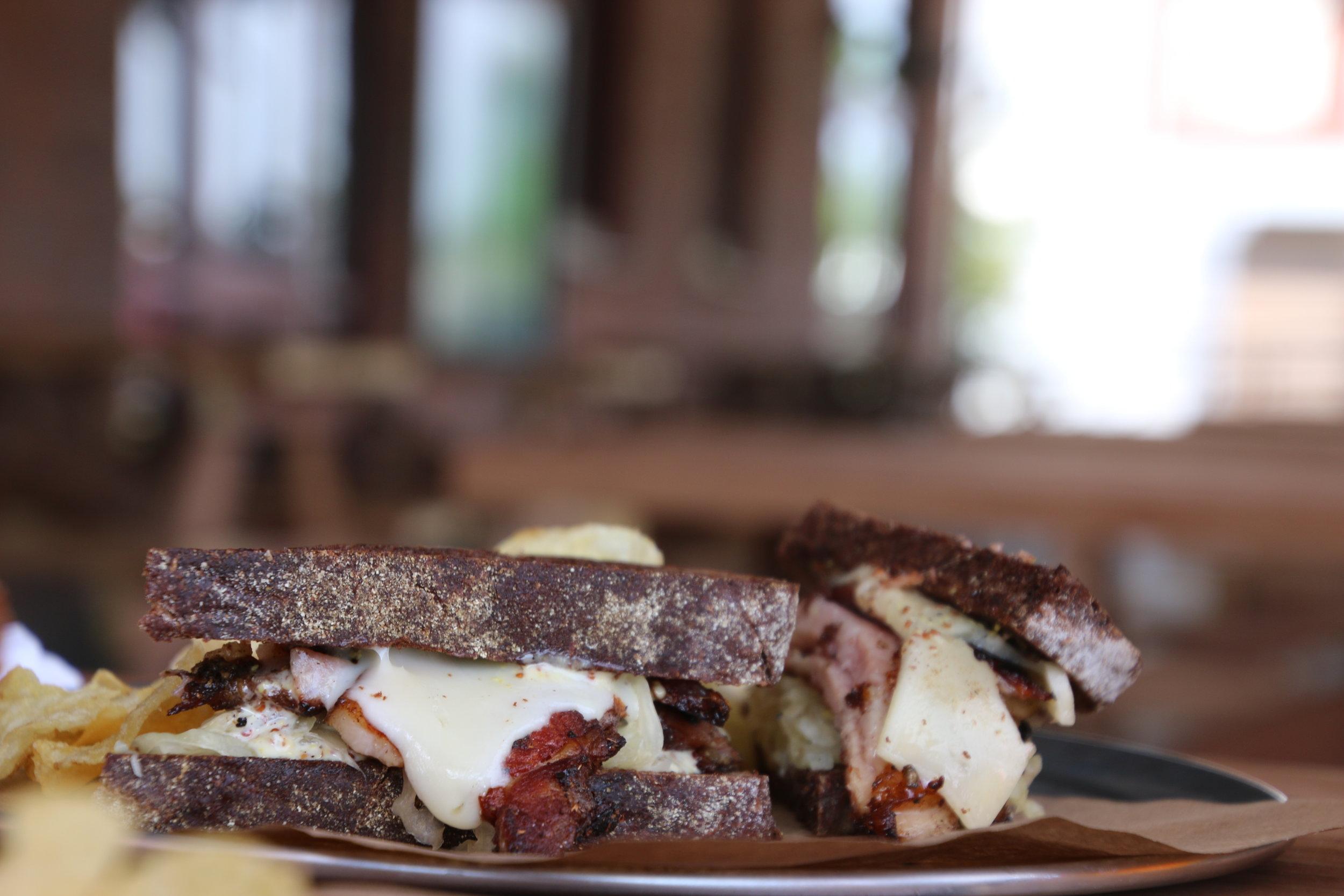 The Porkstrami at Bread & Circus Sandwich Kitchen