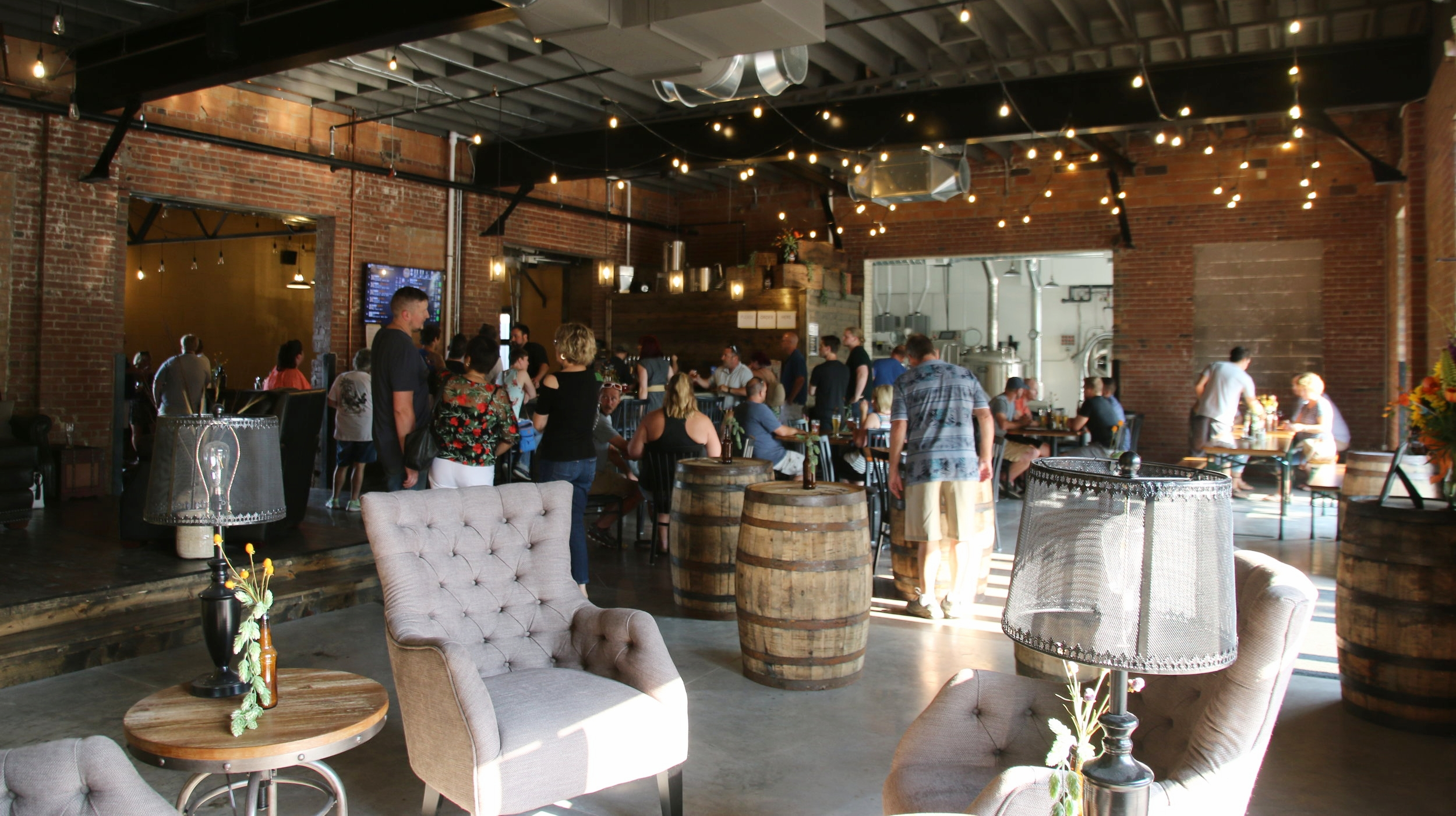 Remedy Brewing Company inside view (obviously)