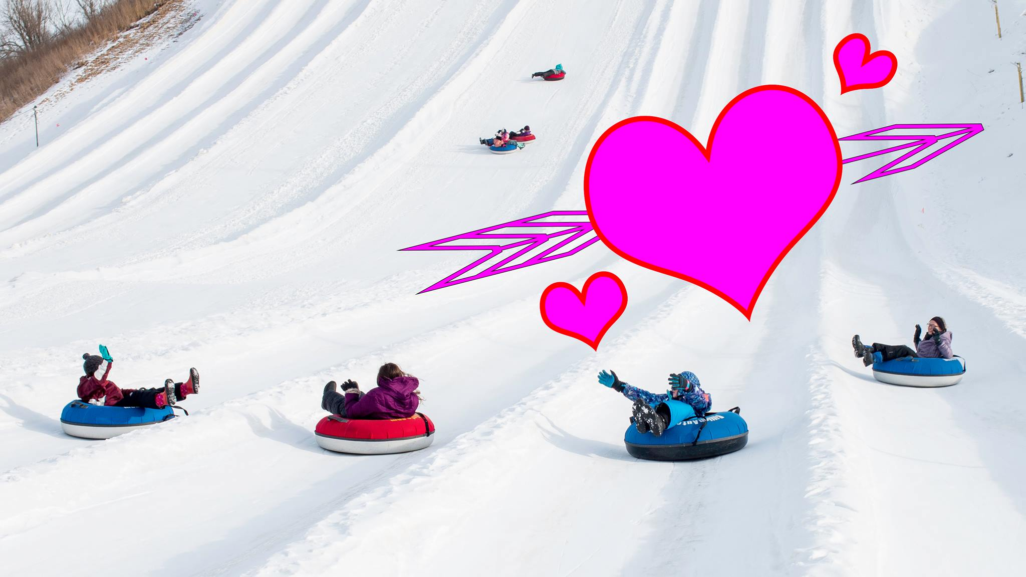 V-Day Tubing at Great Bear