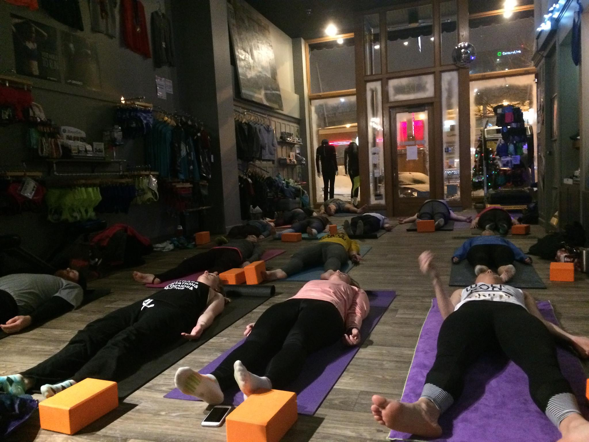 Run + Yoga at 605 Running