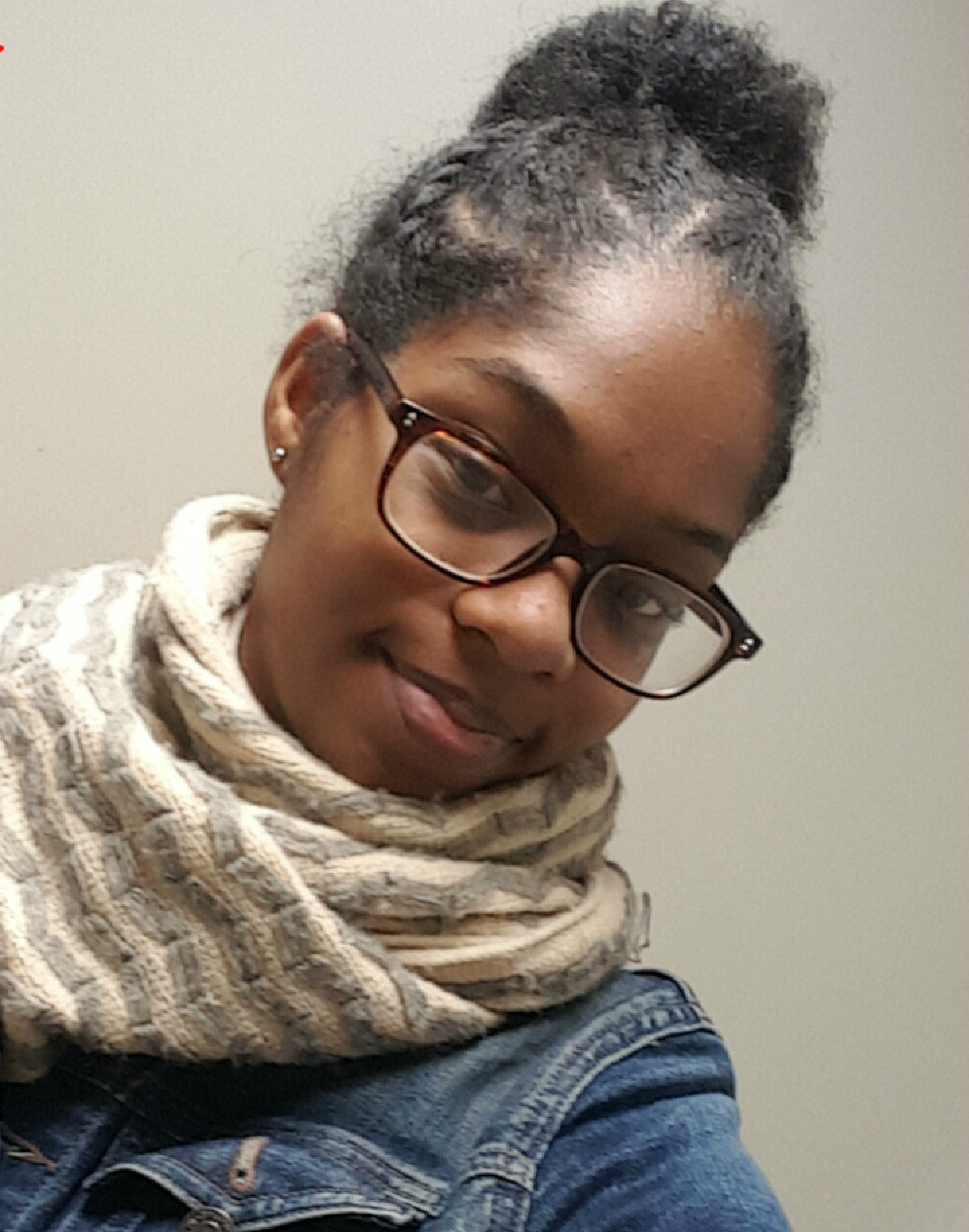 Tonie is a senior at Benjamin Banneker Academy in Brooklyn. She's headed to Boston College in the fall.