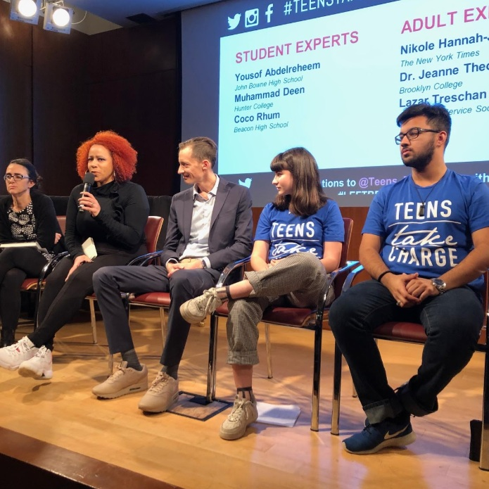Teens Take Charge – Education Panel On What It's Like To Be Left Behind   Bklyner, December 4, 2018