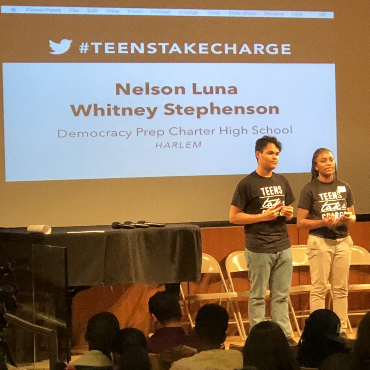 New York City Students Share Plan to Fight for School Integration   Long Island Report, April 23, 2018