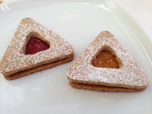 Gluten-free Linzer Hamentaschen  (image T. Freuman)