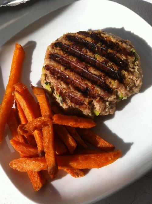 Turkey Quinoa Burgers  (image T. Freuman)