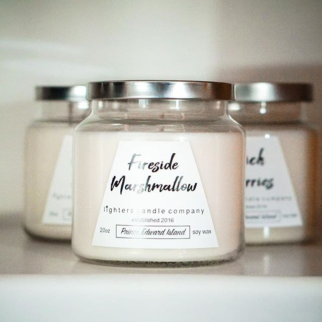 Wow! We haven't made a post in three weeks 🙈 Time flies when you are hustling but we're ready to launch one of two new products- our new three wick candle! This  beauty brings all the fall cozy vibes with it's three flames and strong fragrances!  Available in 18 different scents, there is an option for every favourite fragrance category.  Newest product is full of sweary goodness and launching soon at the @etsyteampei market on September 28th!