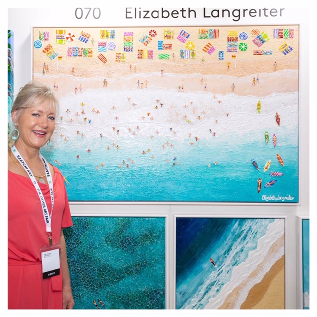 The Other Art Fair Sydney in March this year.   Delighted to be one of the top 20 best selling artists