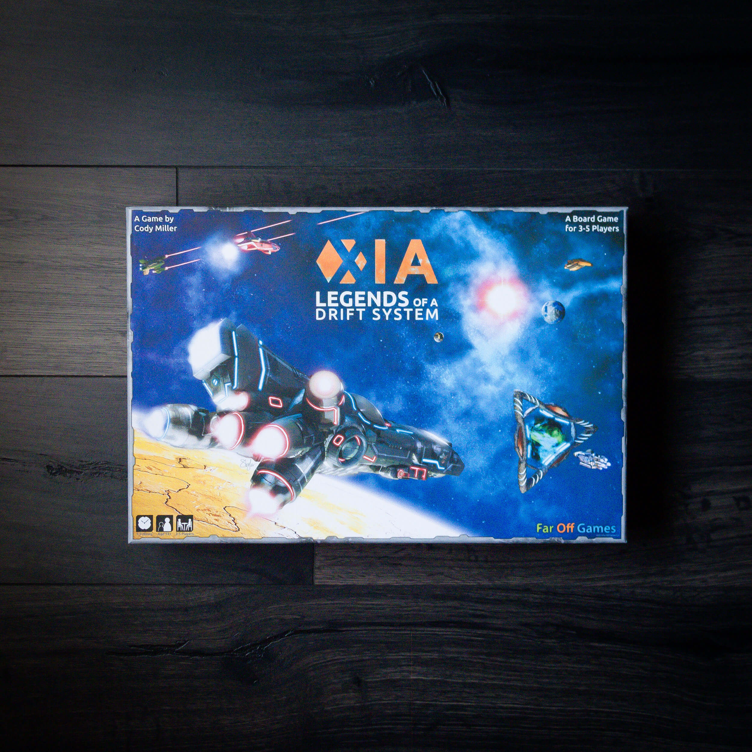Xia: Legends of a Drift System. Once of the first Kickstarter projects I participated in. Funded June 2013 with $346,772 from 3,293 backers.