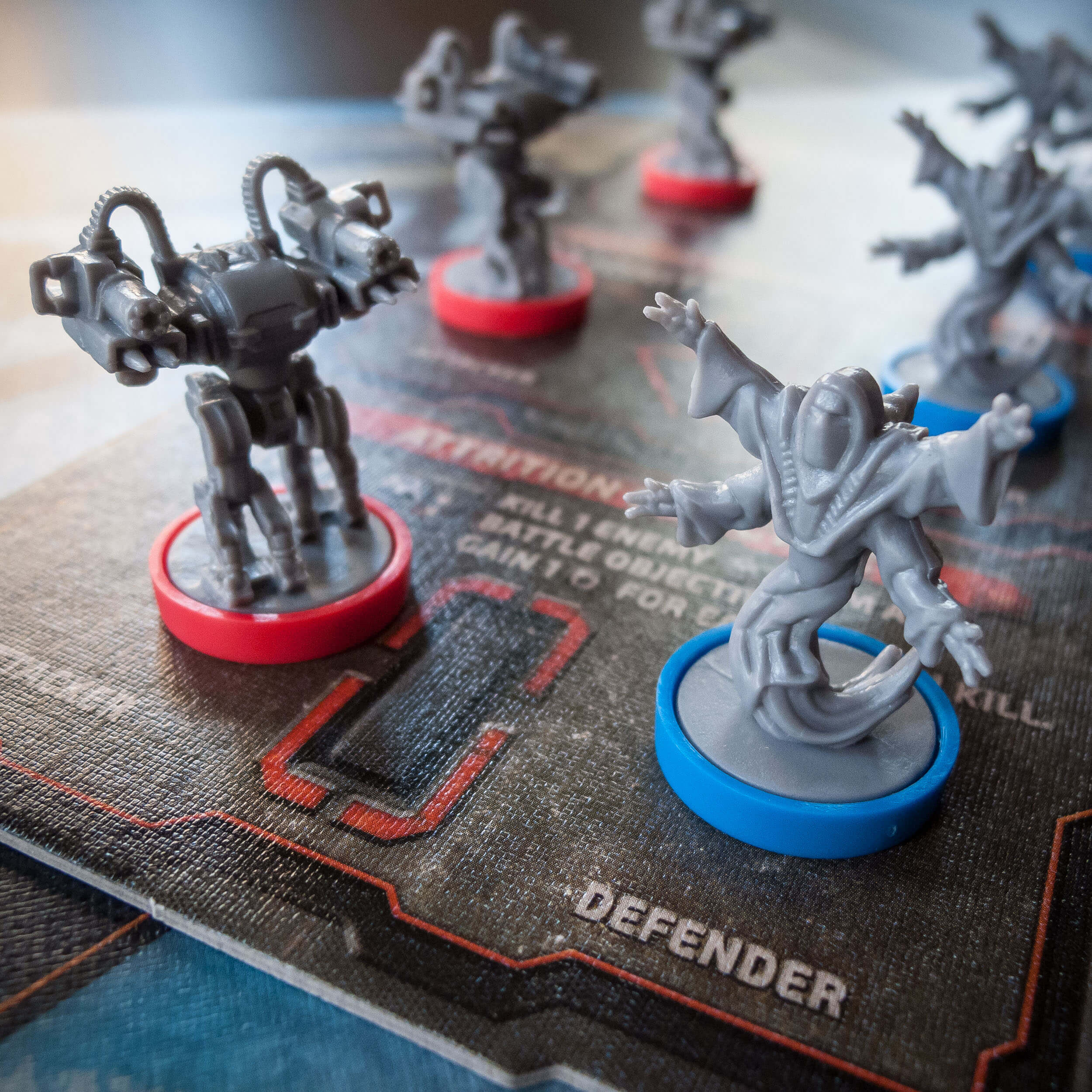 Cry Havoc battle board with miniatures