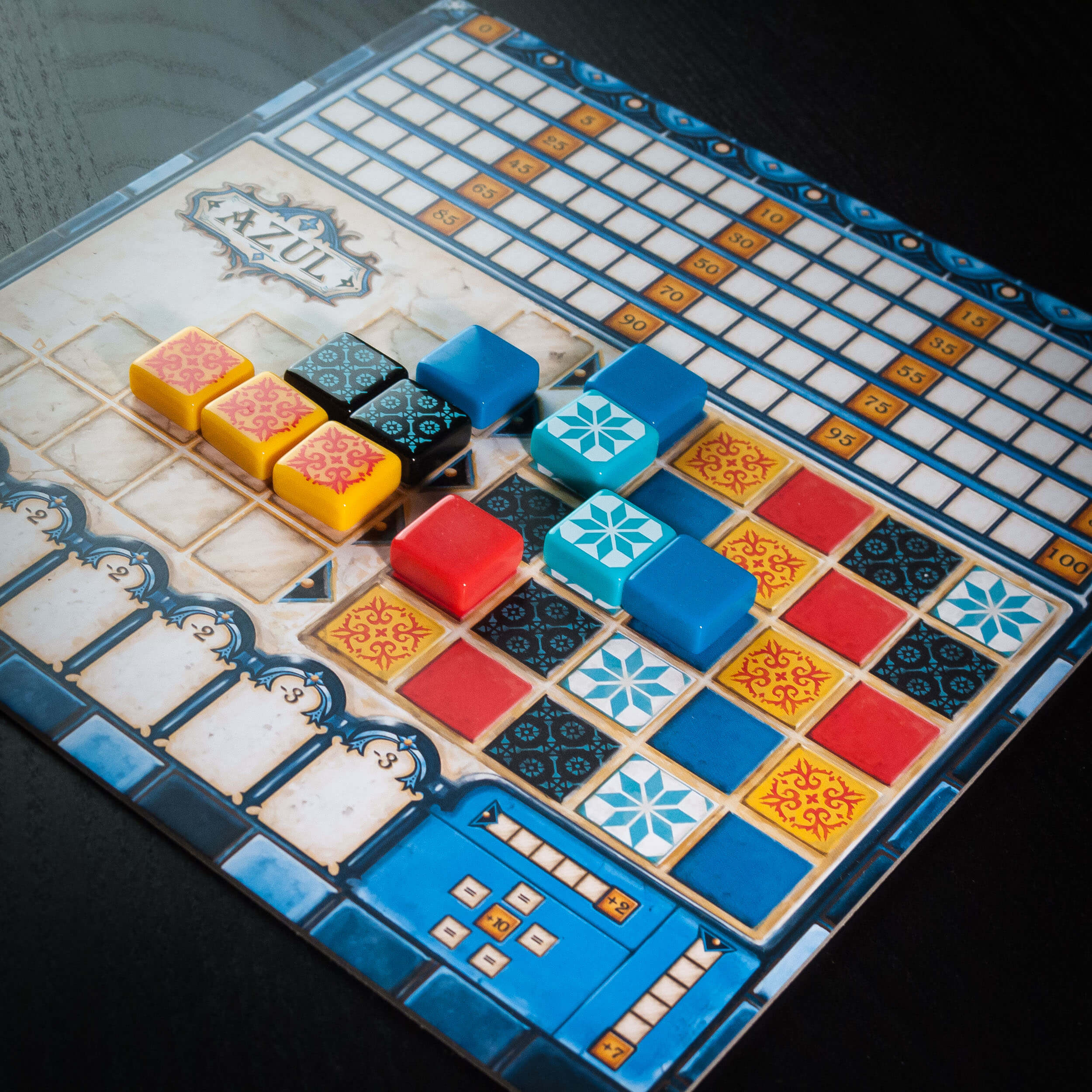 Player board for Azul