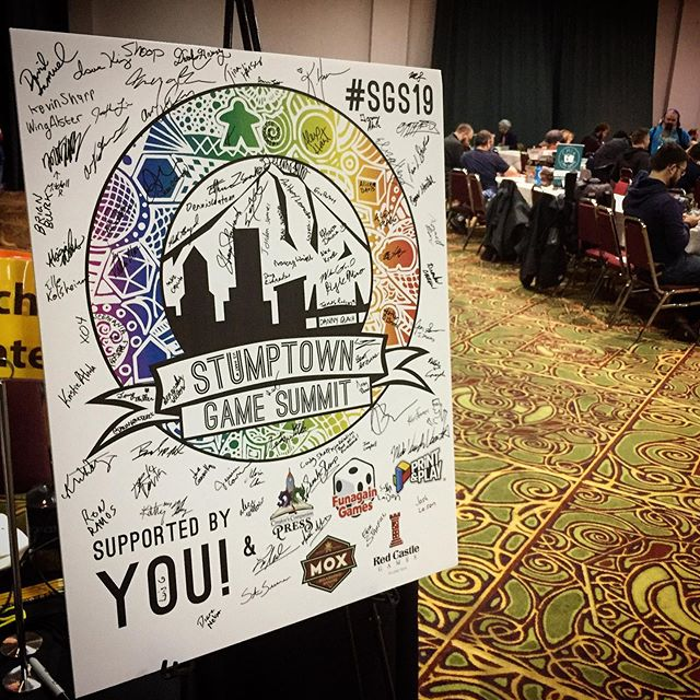 First Stumptown Game Summit! — #sgs19 #games #boardgames #boardgame #boardgamegeek #tabletopgames #cardgames #boardgamer #bgg #spiel #tabletop #analoggames #boardgamesofinstagram #brettspiele #gamephotography #ongoldenage