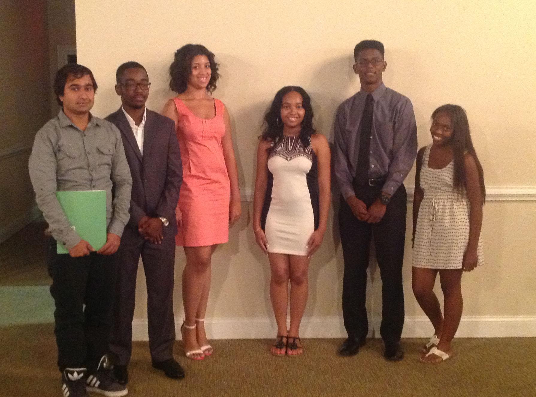 2014 RISE Scholarship Winners