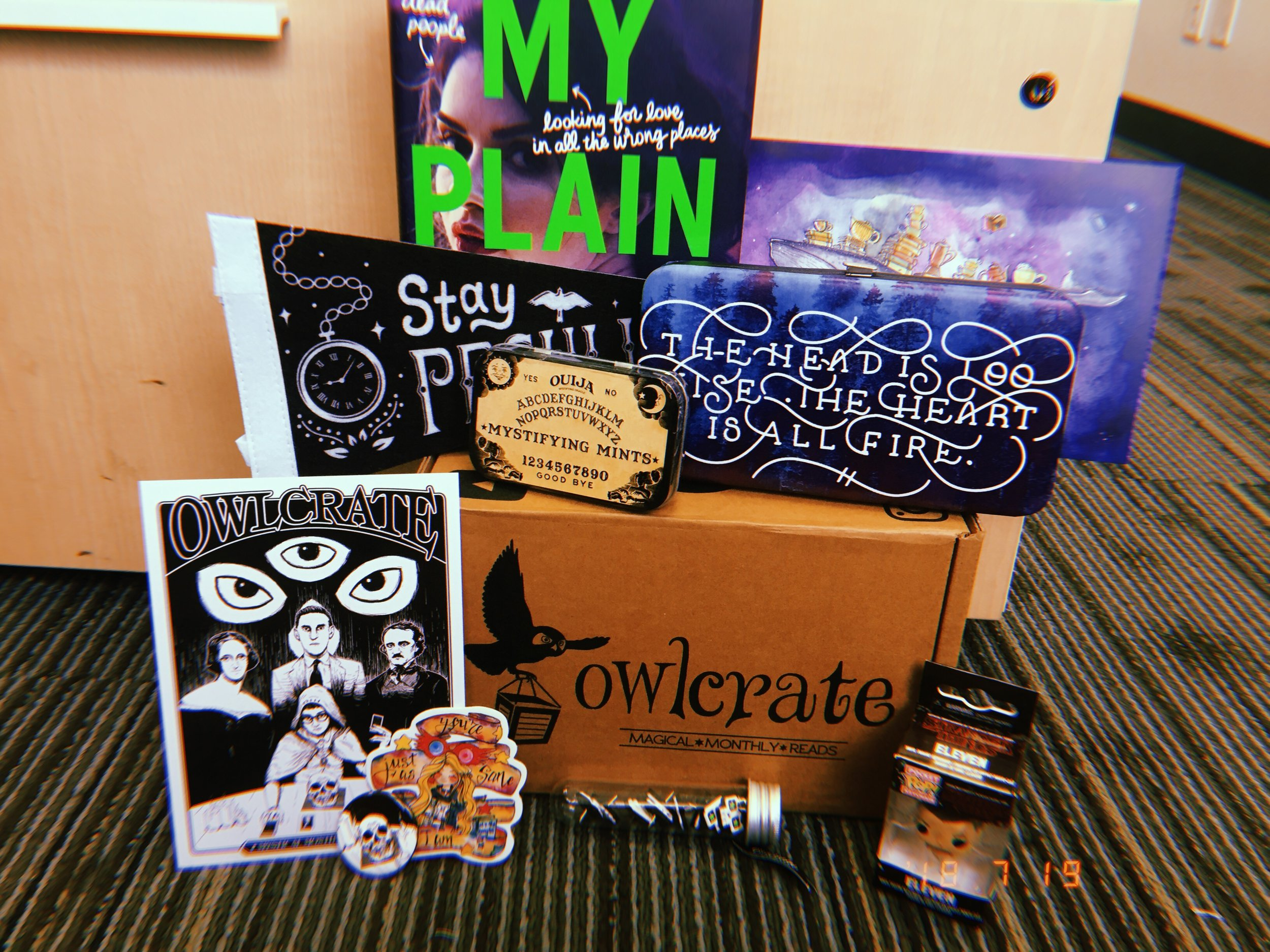 July Owl Crate 2018