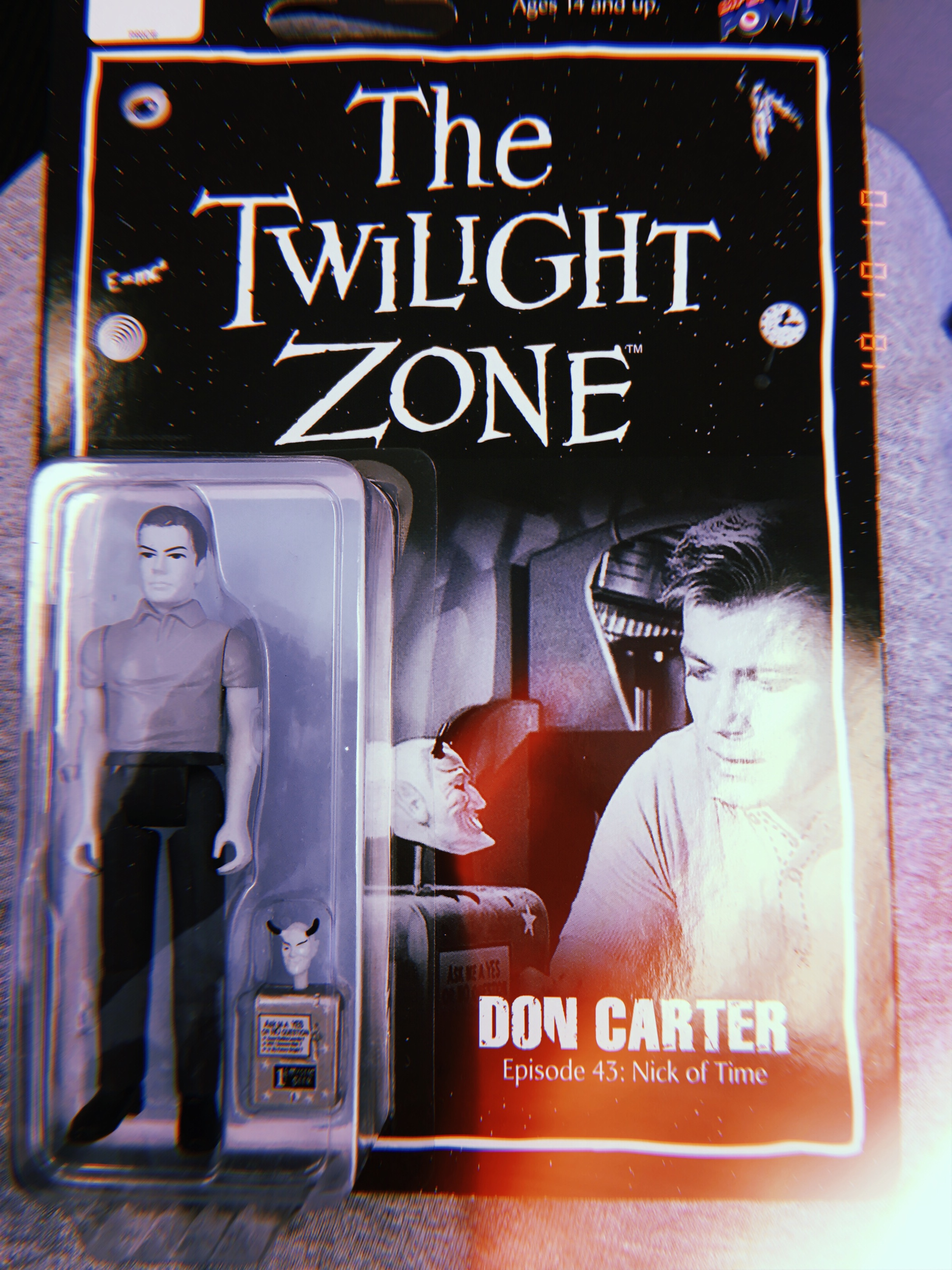 A great figurine from The Twilight Zone - specifically Ep 43. starring William Shatner