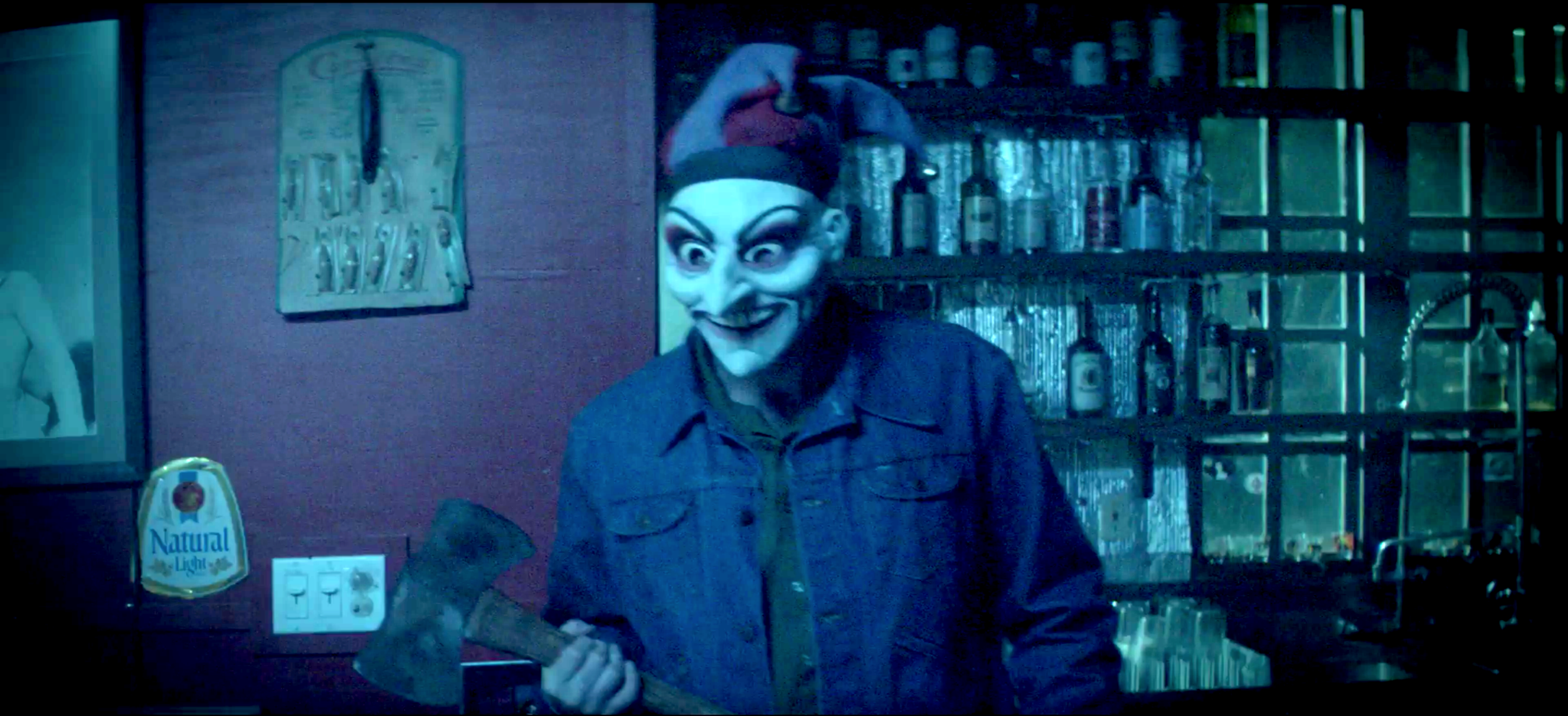 This is one of the dudes who broke into Delroy's when he was a kid. Yeah, they were all kinda creepy lookin'.
