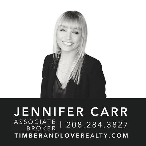 Timber and Love - Jennifer Carr, Associate Broker