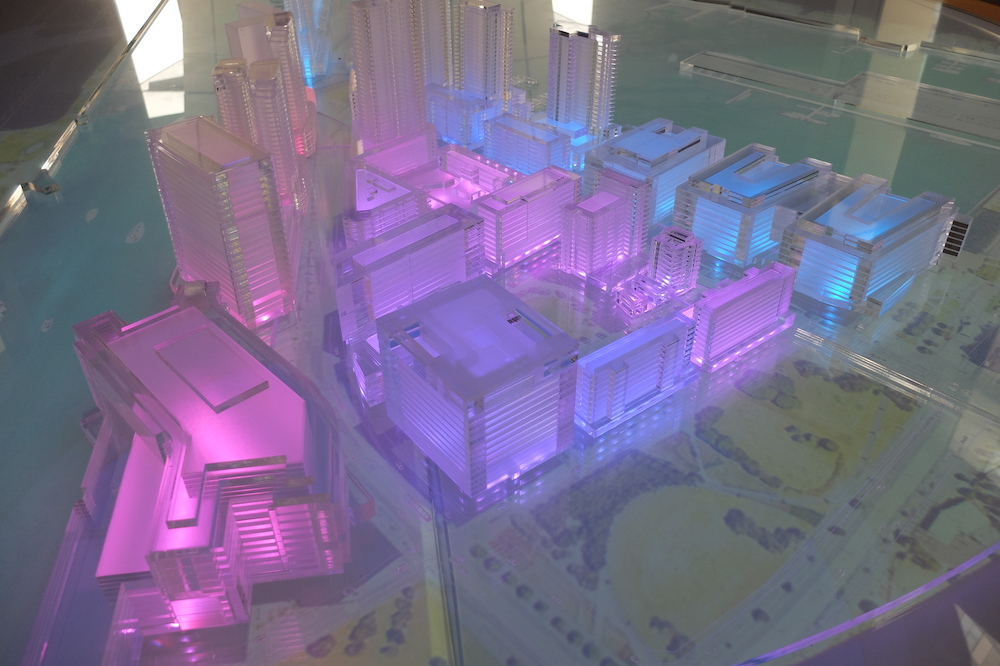 Interactive Masterplan Model by Porter Models