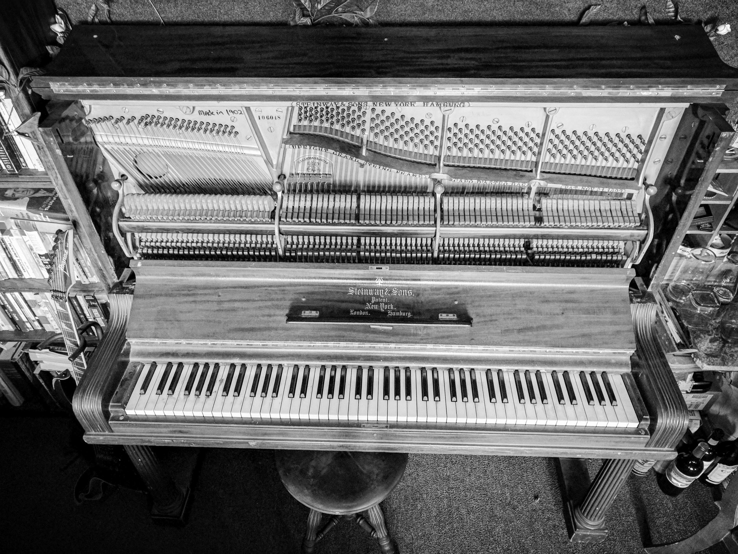 1902 Steinway in Studio 459 (2016)