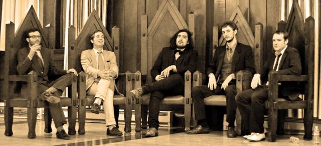 JOHN BROTHERS 5 - L-R: Arlo Perlstein, John Thatcher Boomer III, John Steven Morgan, Jimi Marks, Greg Ashley