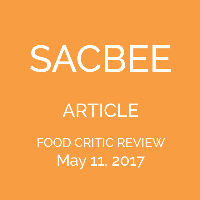 SAC BEE FOOD REVIEW