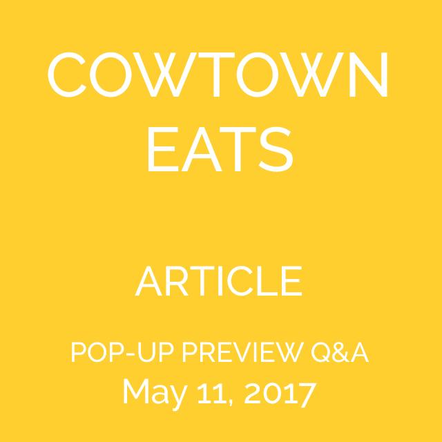 POP-UP PREVIEW Q&A