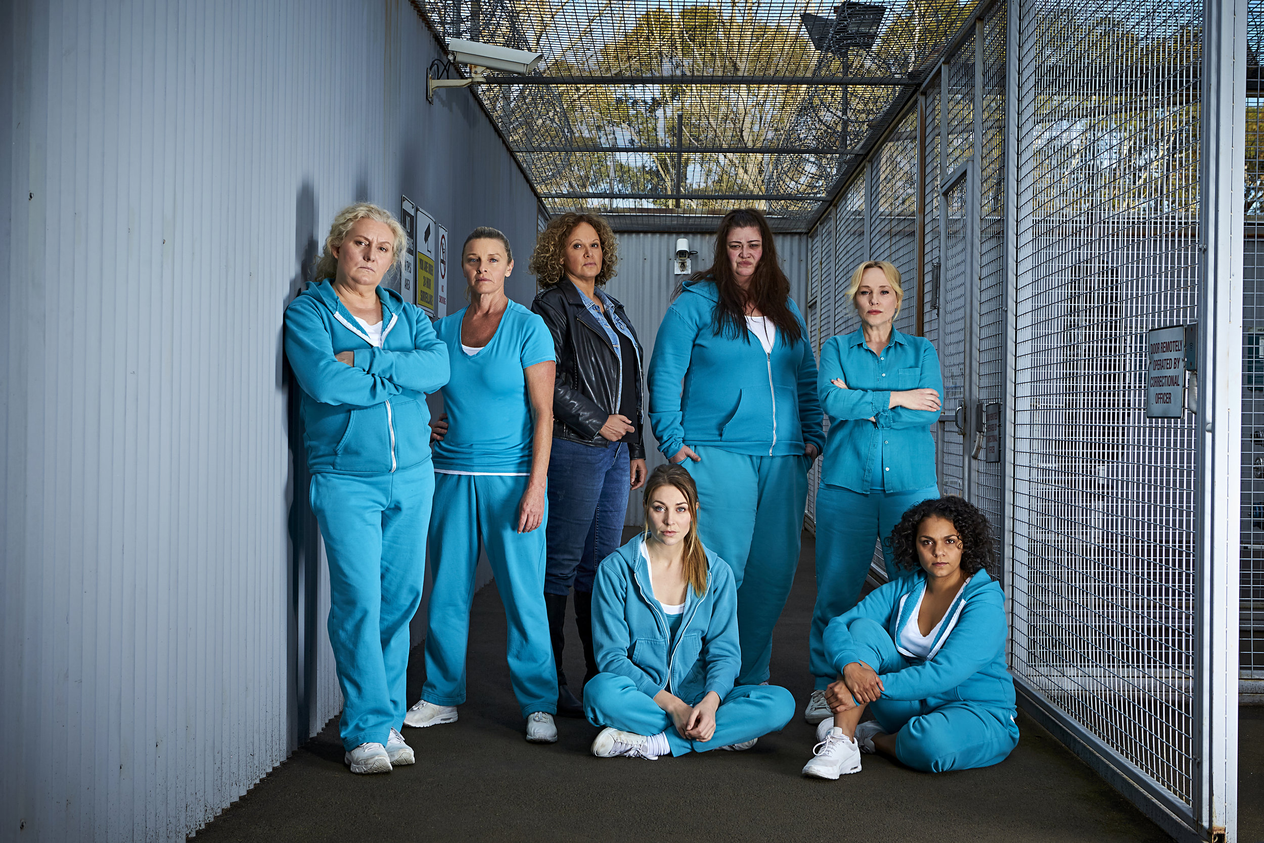 WWS7 - Celia Ireland, Tammy MacIntosh, Leah Purcell, Kate Jenkinson, Katrina Milosevic, Susie Porter and Rarriwuy Hick (Photo by Narelle Portanier).jpg
