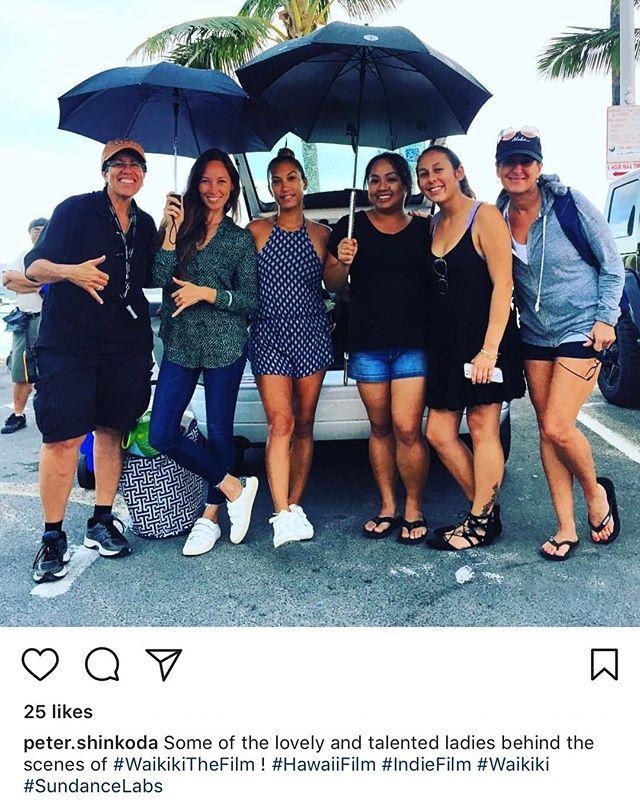 BTS #onset🎥🎬 #onset #renielmay #makeupartist #oahumakeupartist #newfriends