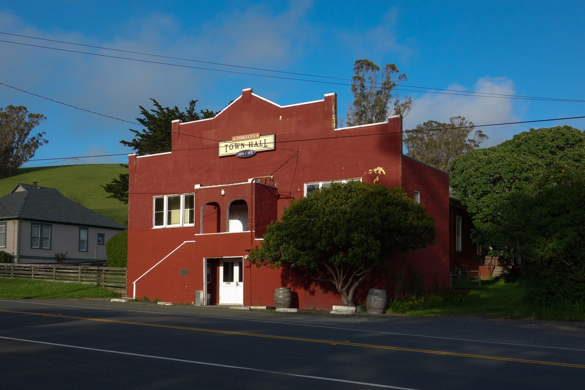 Tomales Town Hall, June 2017.