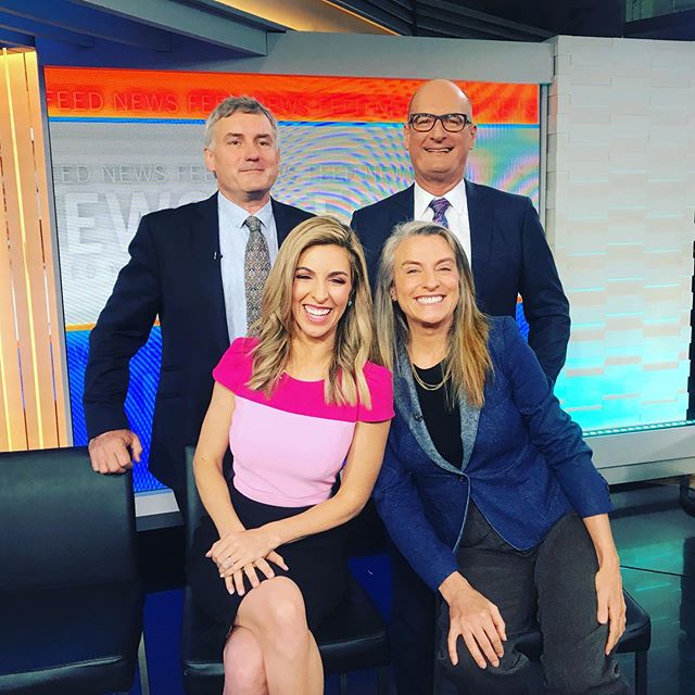 Happy Monday!! ☀️ Talking election results ... is @scottmorrisonmp the new Bob Hawke? Monday morning fun Live on @sunriseon7 with @sunriseon7 gretelkilleen @kochie_online #richardglover #ausvotes 🌭 🗳 #auspol #scomo #bobhawke #electionhangover