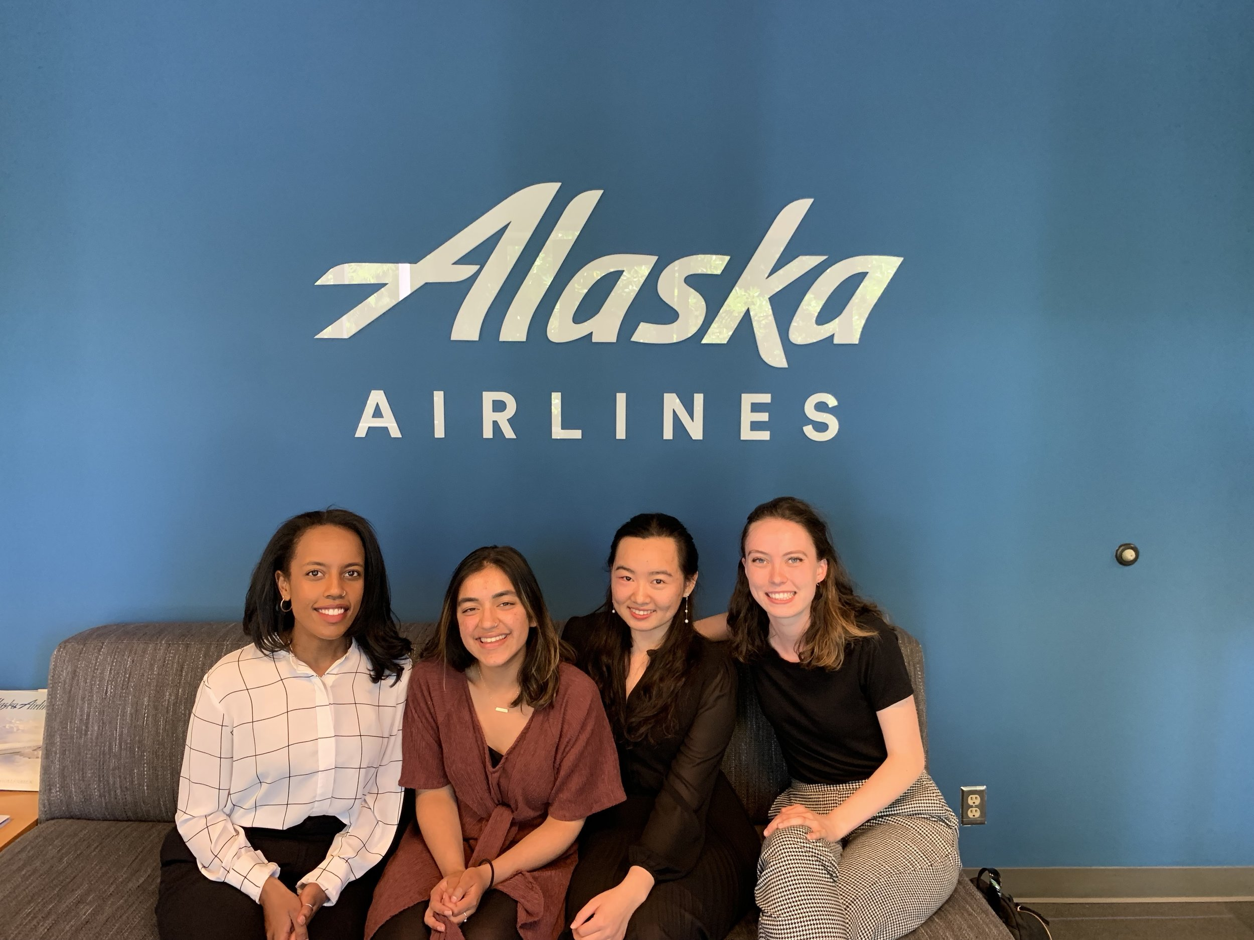 Alaska Airlines team photo