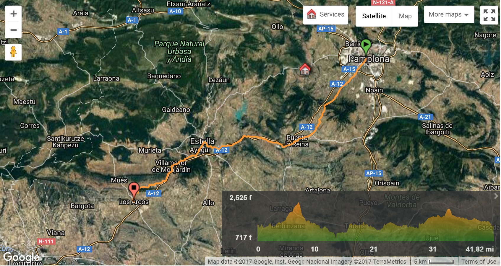 Images courtesy of Follow The Camino  - click to enlarge