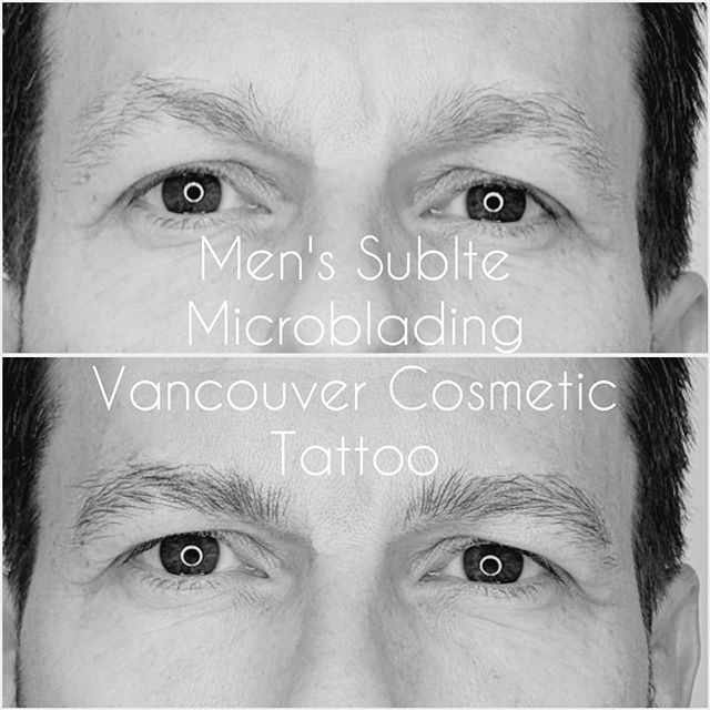 Men's Sublte Microblading  Men who have sparse brows can also benefit from microblading. The key is for it to be very sublte💕  #mensbrows  #mensmicroblading  #microbladingformen  #cosmetictattoo #kitsilanobrows  #brows #microbladingvancouver #kitsilano