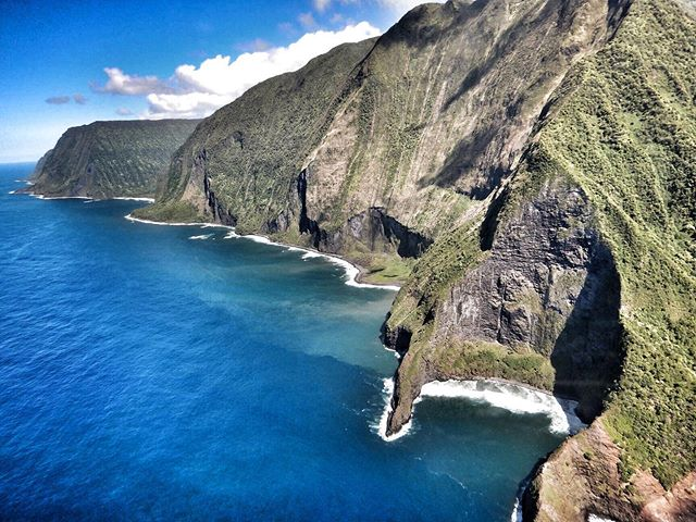 We are loving this photo taken by our guest on the West Maui and Molokai helicopter tour 💕