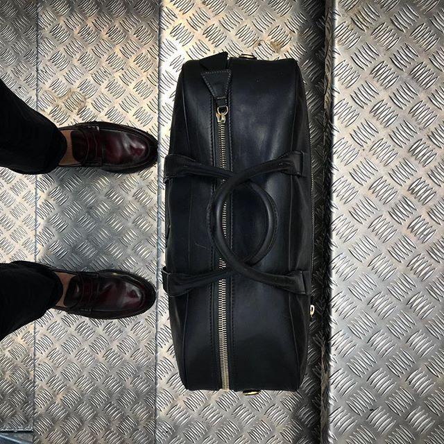 Even dirty stairs can take you somewhere... . . . . . . . . . #laptopbag #workstyle #workinstyle #travelinstyle #travel #menfashion #menstyle #mensstyle #luggage #mensfashion #menwithclass #menswear #leatherbag #leather #realleather #vegetabletanned #vegetabletannedleather #madeinitaly #madebyhand #stairs #airplane #airport