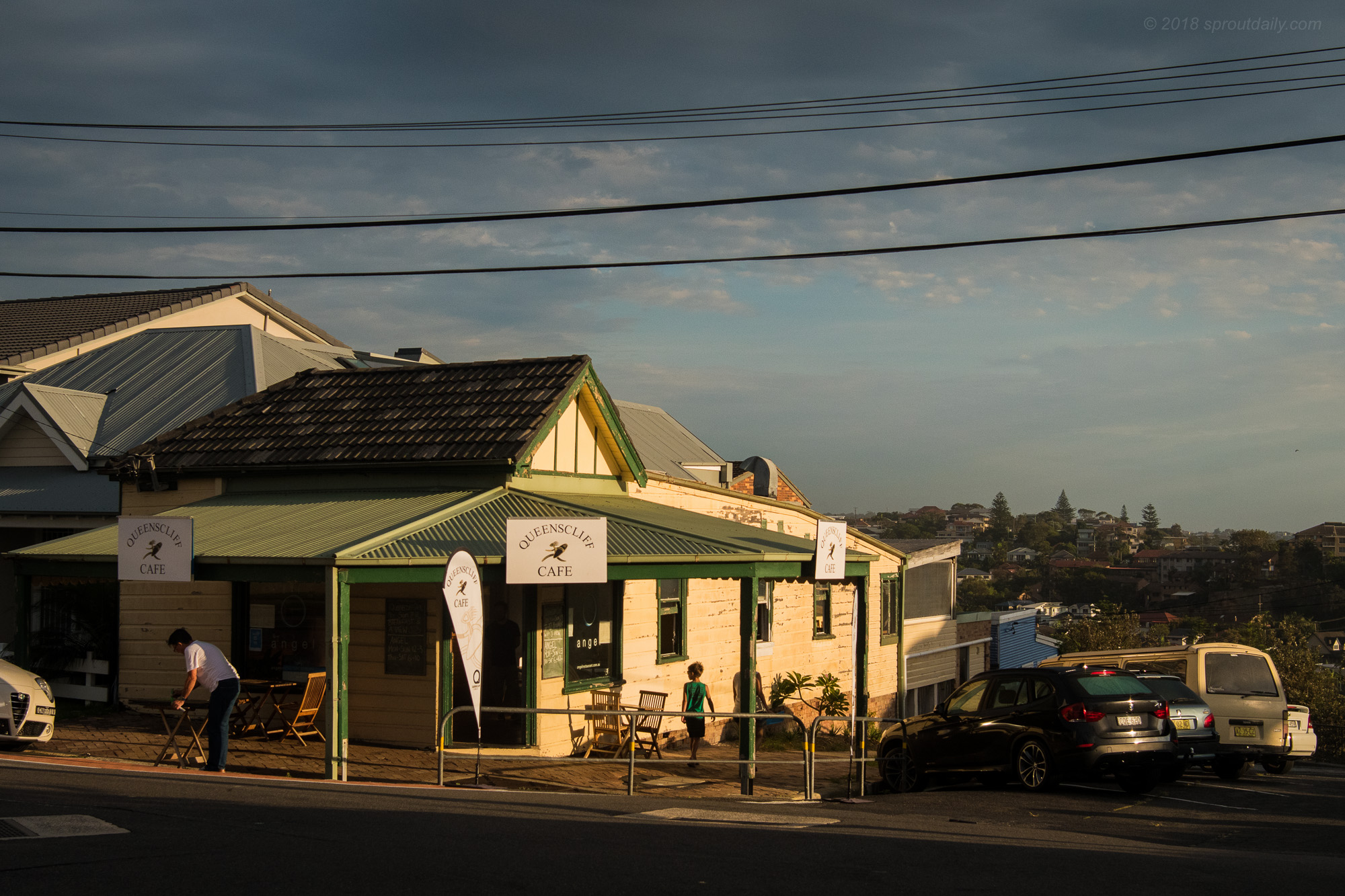 Queenscliff Cafe - When did you pop up?