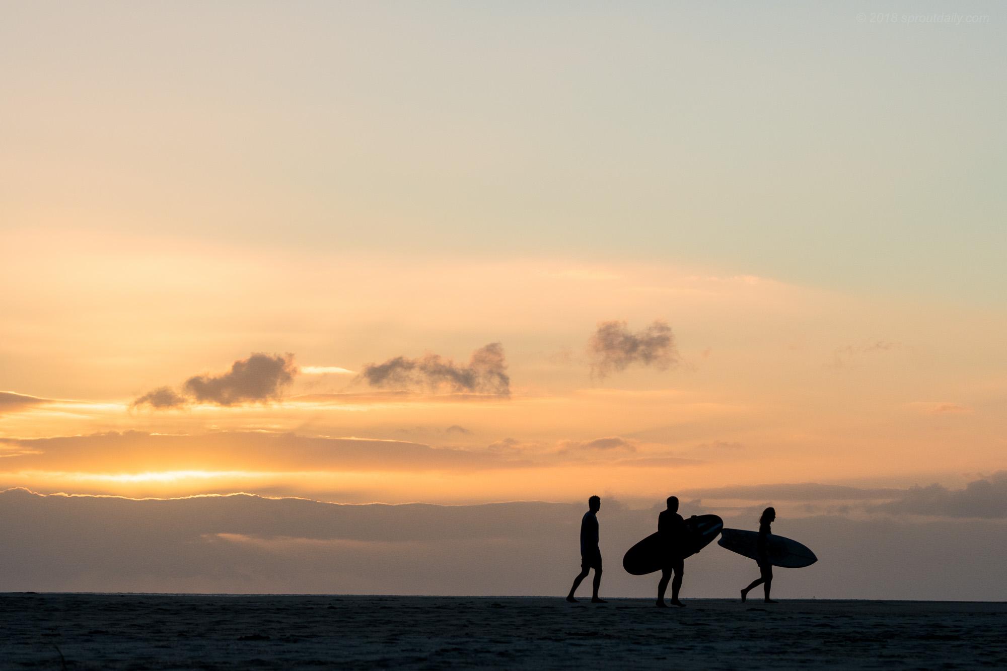 Sunrise Horizon Lines