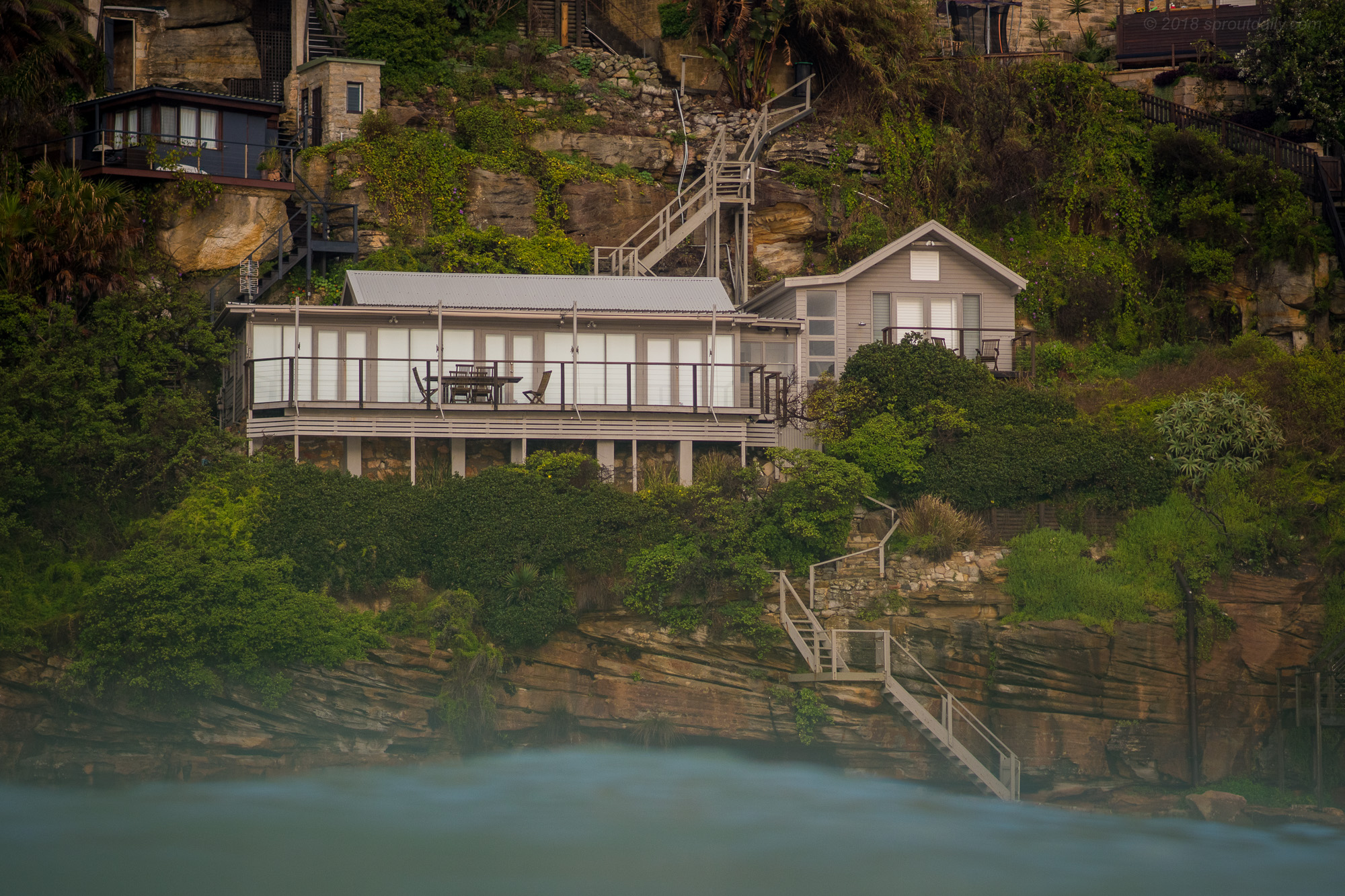 Little Dream House On The Cliff