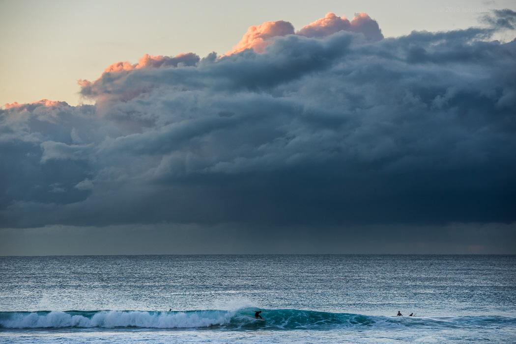 Insider under heavy clouds