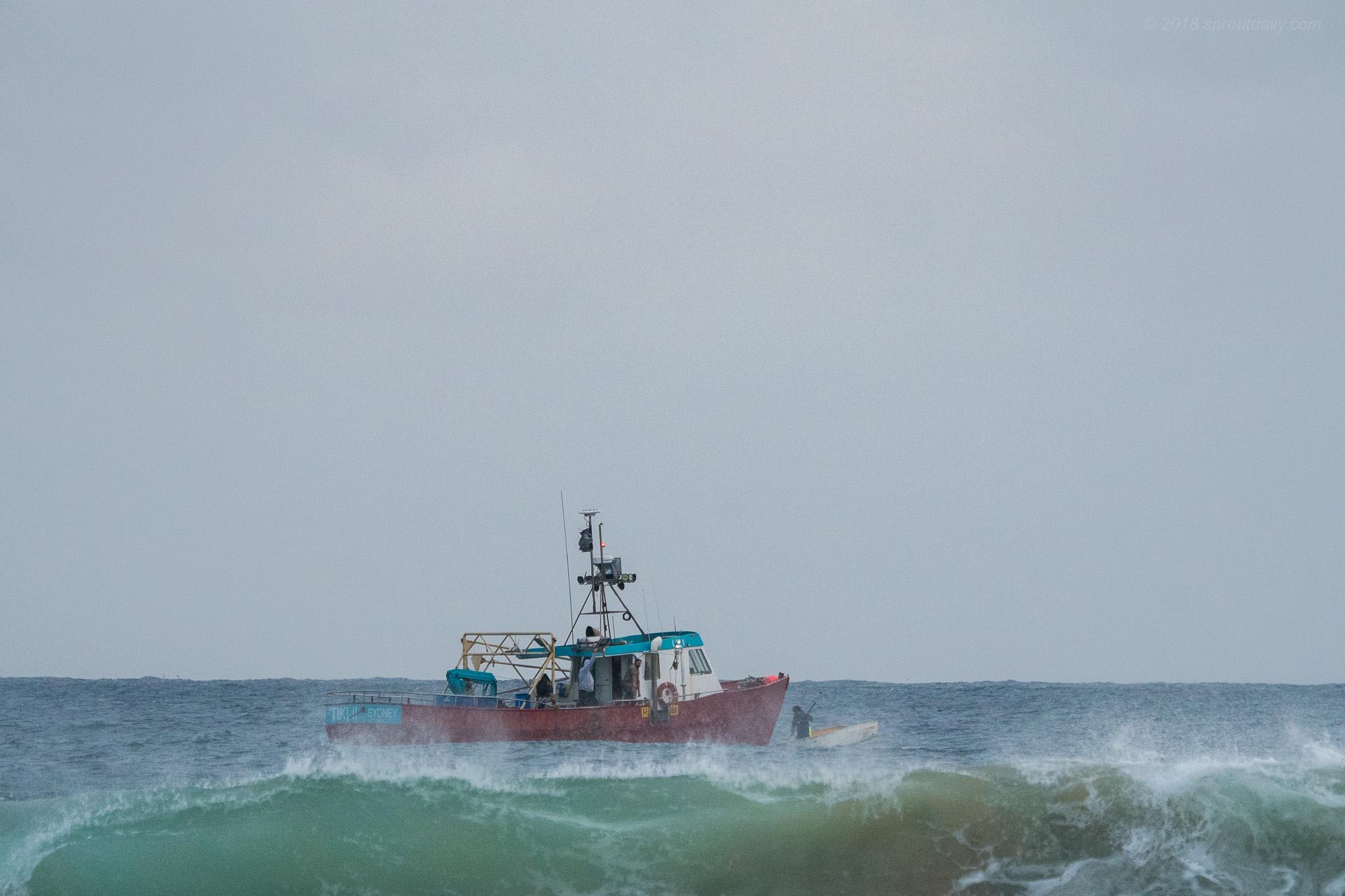 Tough day on the Tiki II
