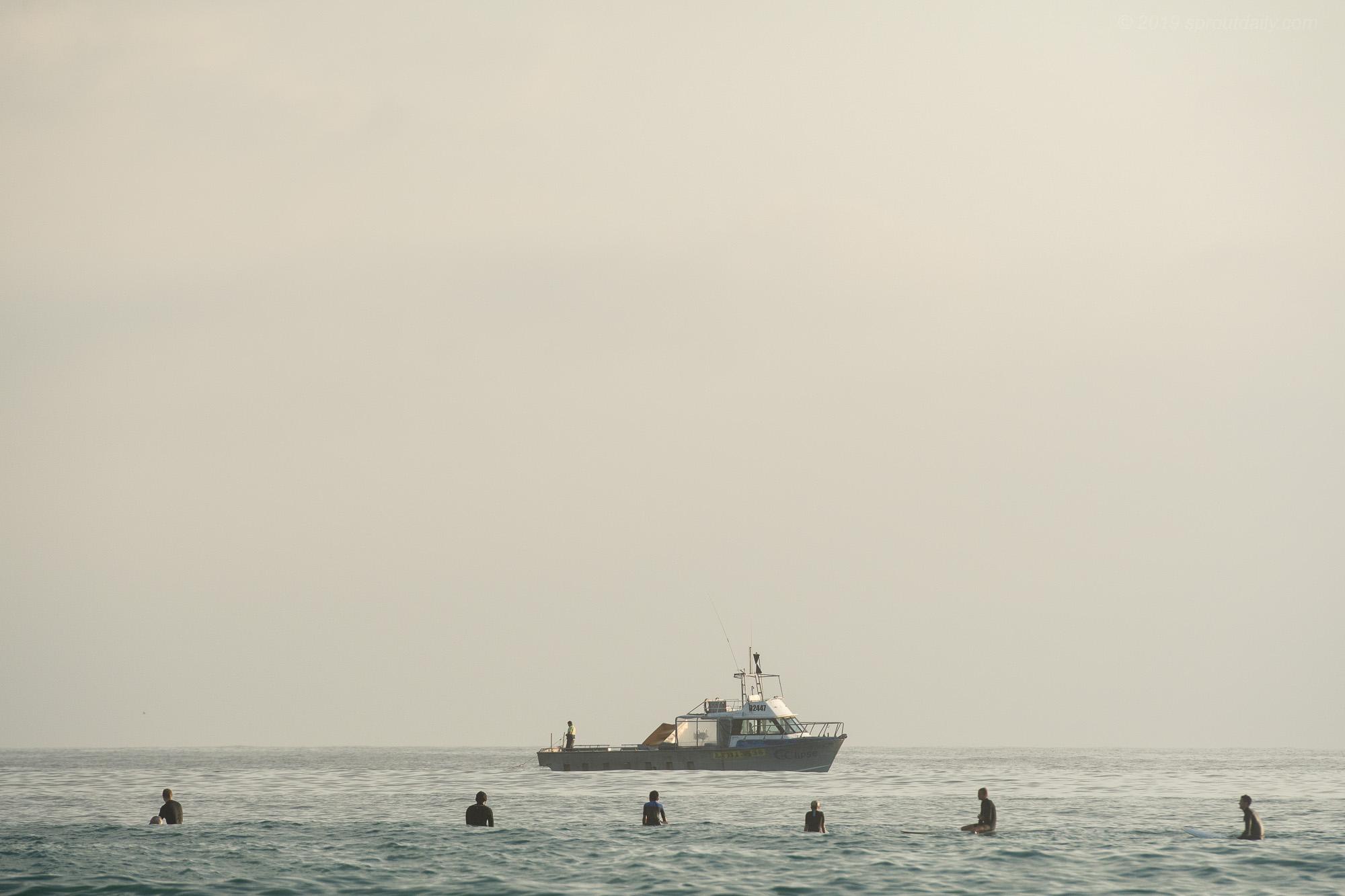 Every Present Shark Net Boat