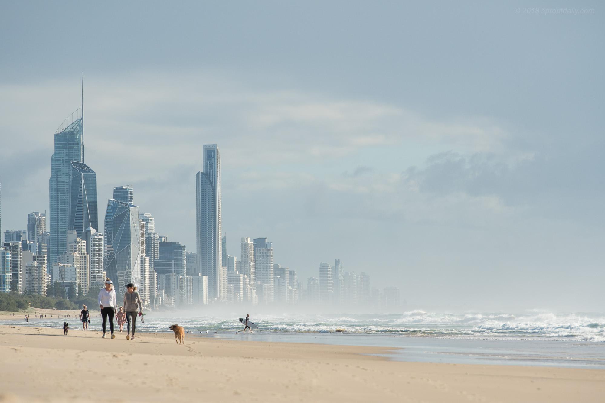 Manhattan on the Sand