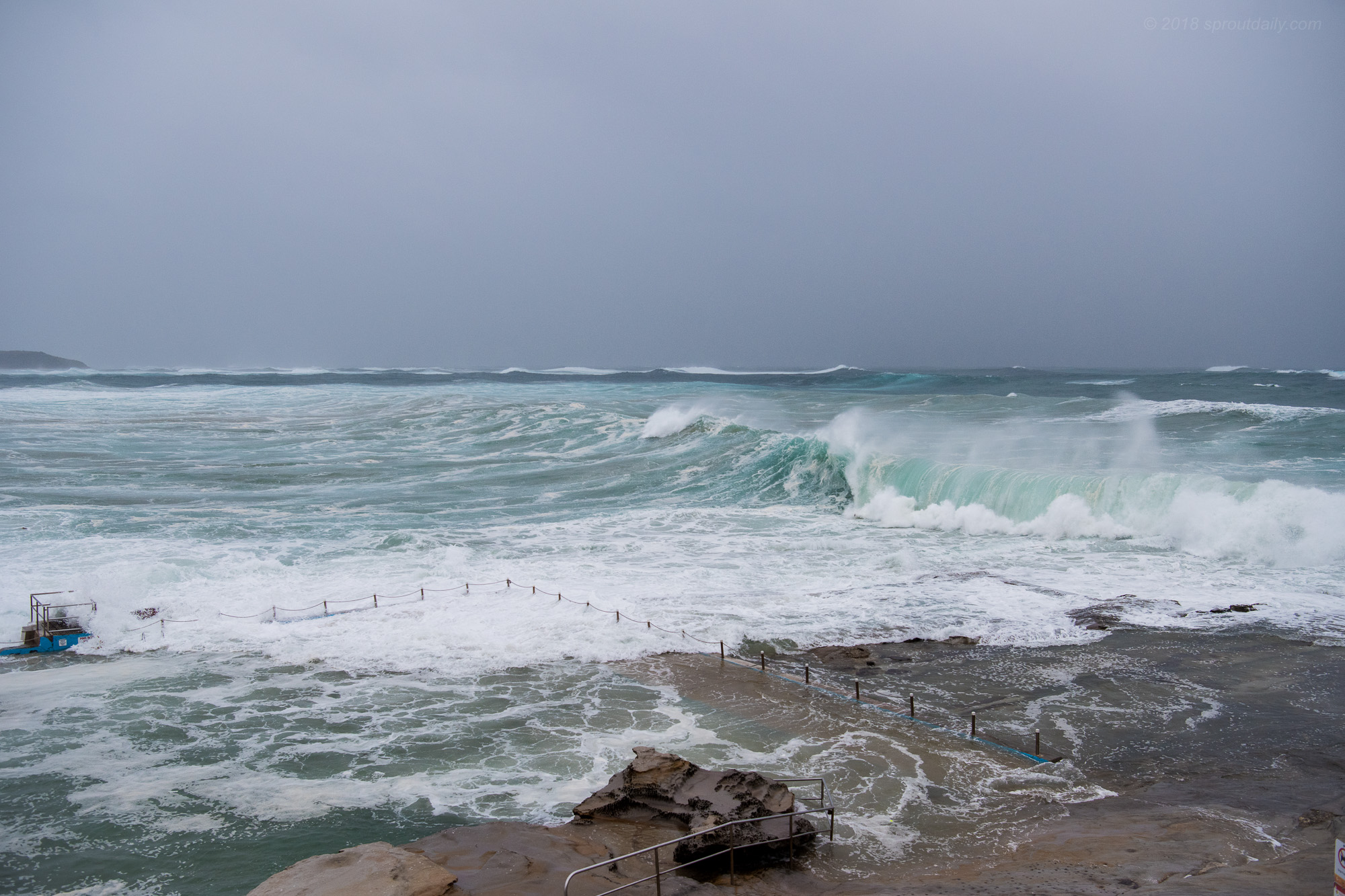 All of a sudden Dee Why looked like this...