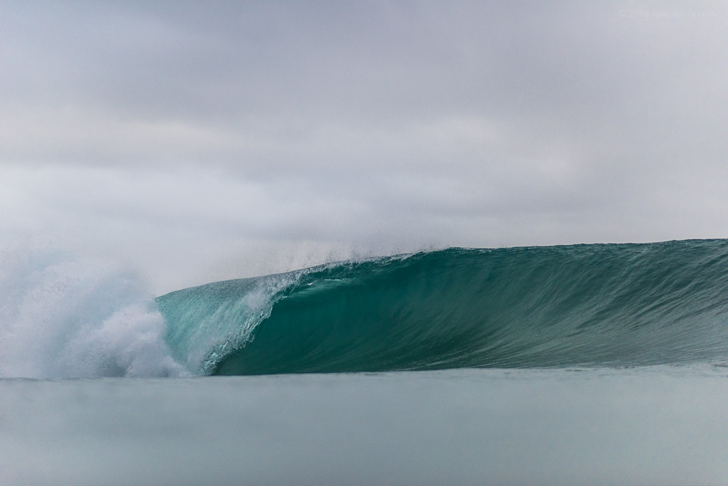 Wave of the Morning - Pity the guy fell on take off