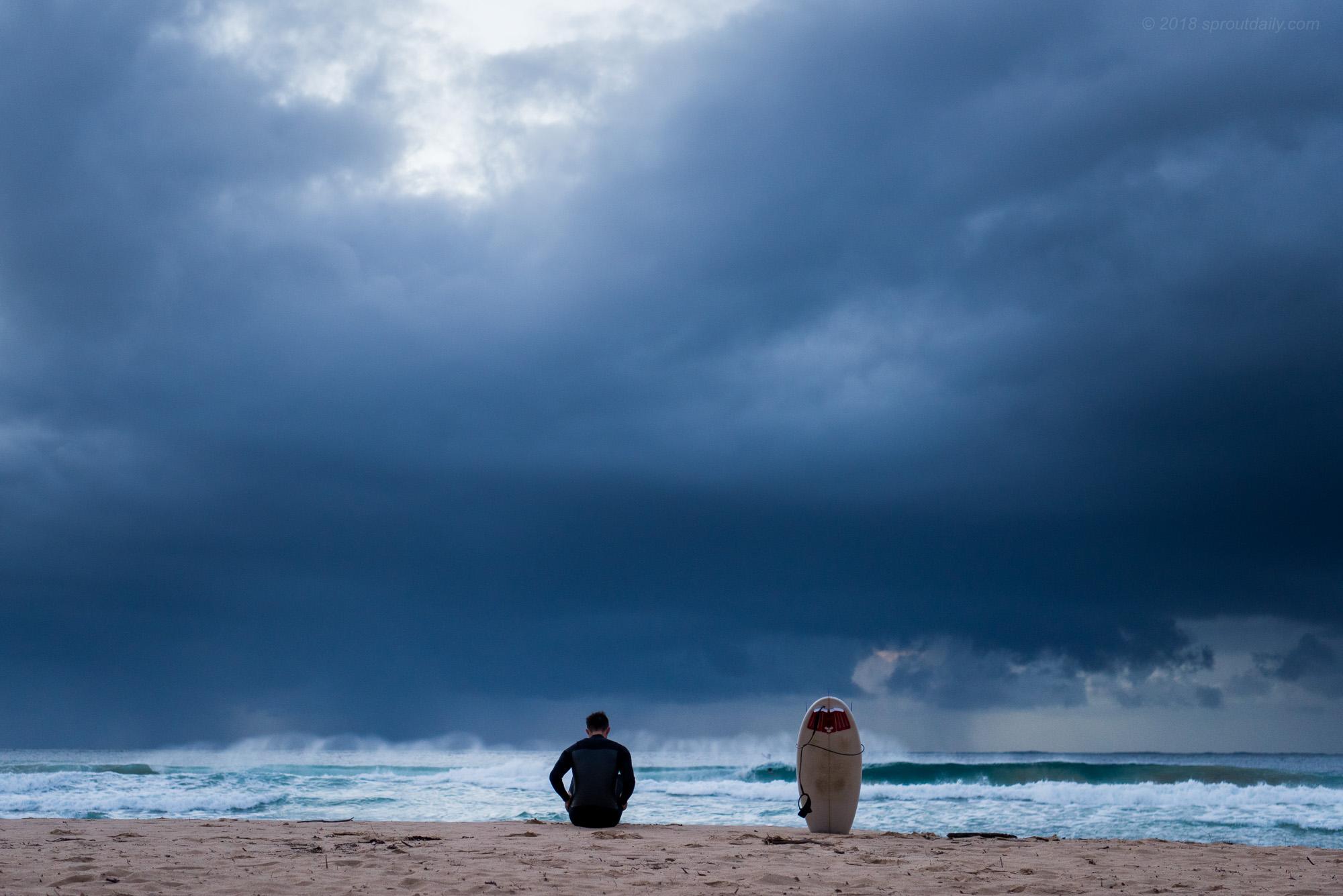 Pre Surf Routine