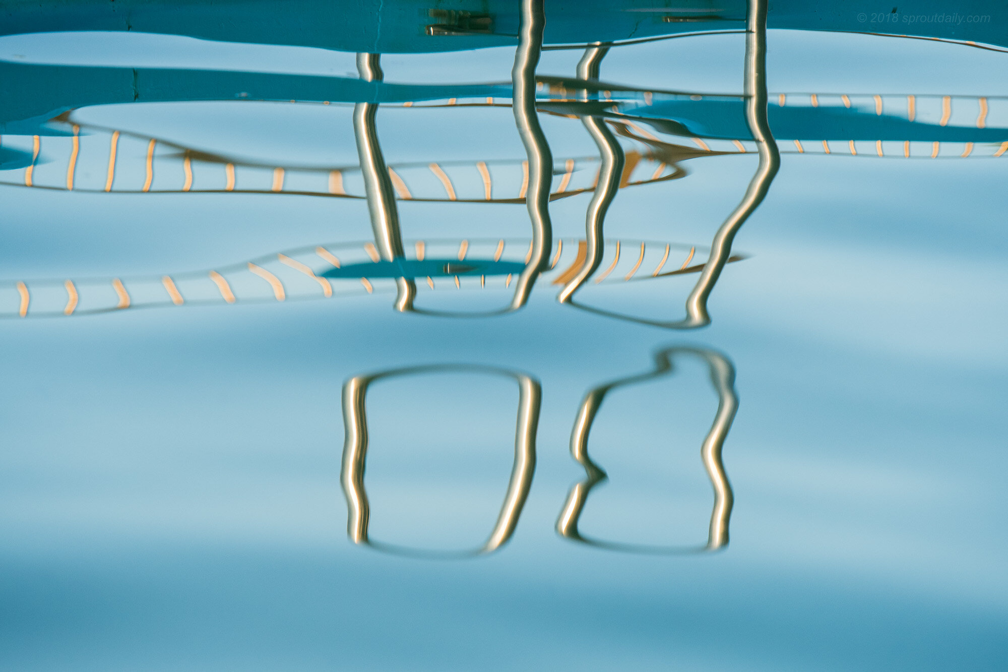 Poolside Abstract